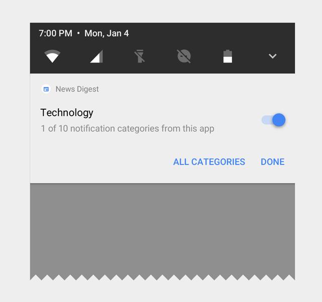 Android O 通知チャンネル