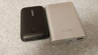 【最軽量クラス】AUKEY モバイルバッテリー 10050mAh PB-N52 レビュー