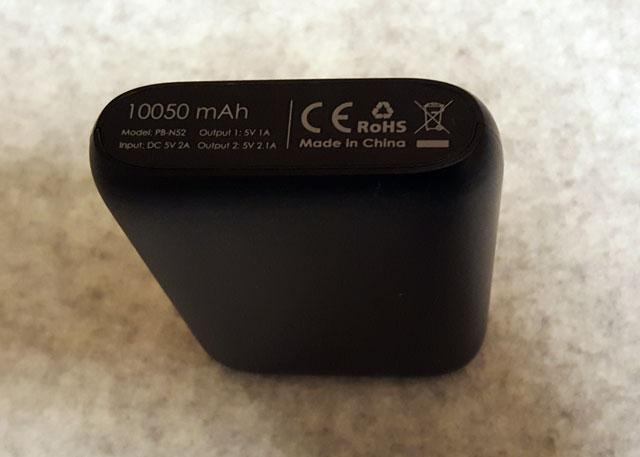 AUKEY モバイルバッテリー 10050mAh PB-N52