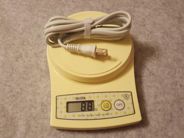 RAVPower 4ポートUSB充電器 RP-UC07 重さ