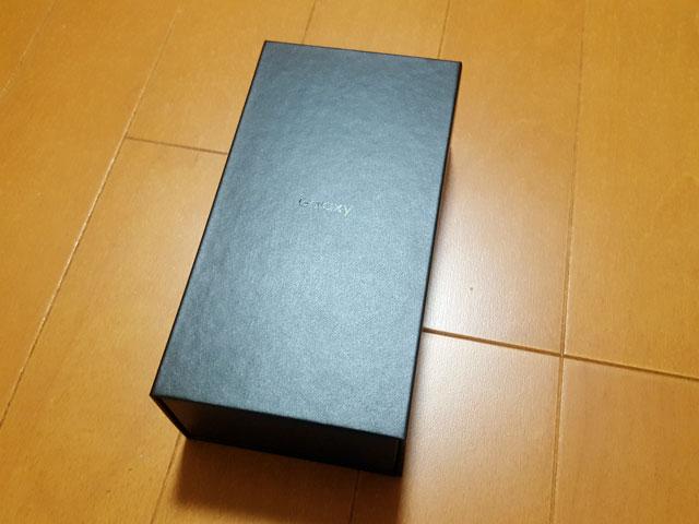 Galaxy S8 SCV36 パッケージ