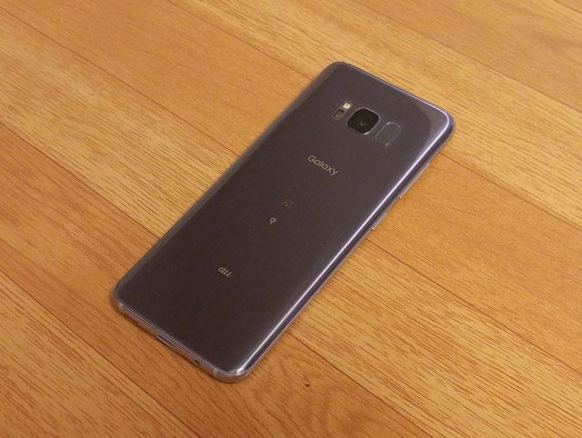 Galaxy S8 SCV36 外見