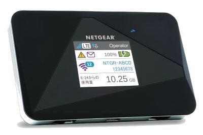 NETGEAR WiFi LTE モバイルルーター AirCard AC785-100JPS