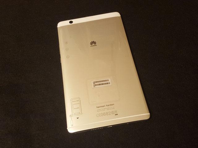 Huawei MediaPad M3 外見