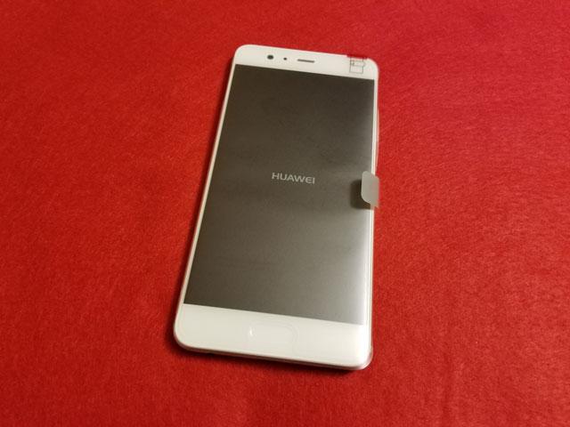 Huawei P10 Plus パッケージ
