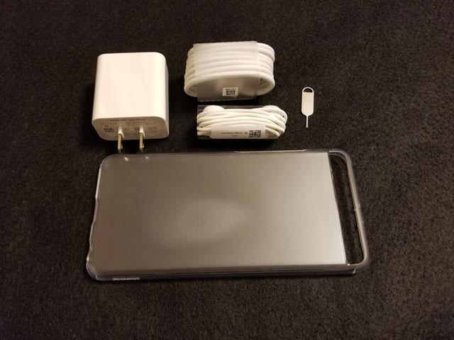 Huawei P10 Plus 付属品