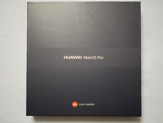 Huawei Mate 10 Pro パッケージ
