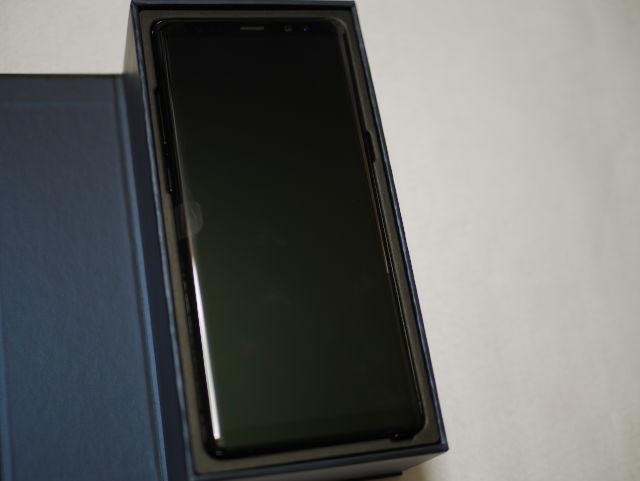 Galaxy Note 8 パッケージ