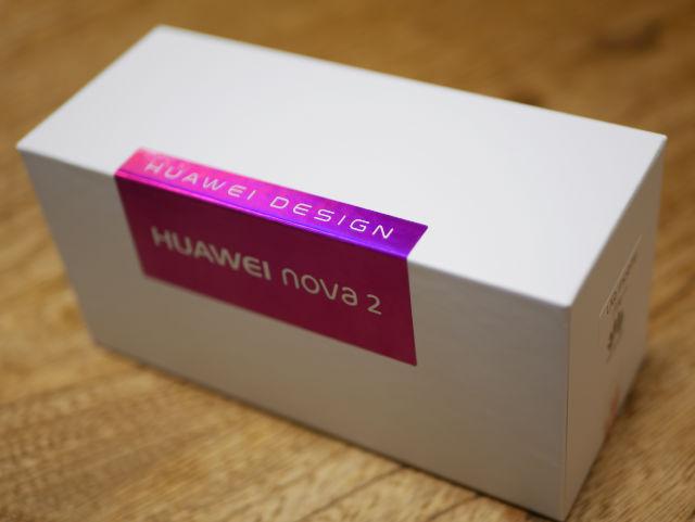 Huawei nova 2 パッケージ