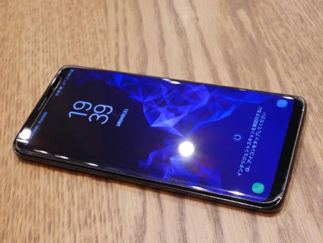 Galaxy S9+ 外見