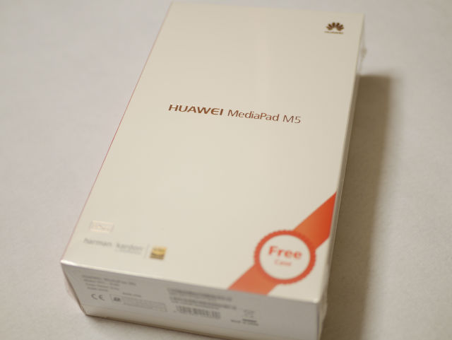 Huawei MediaPad M5 パッケージ