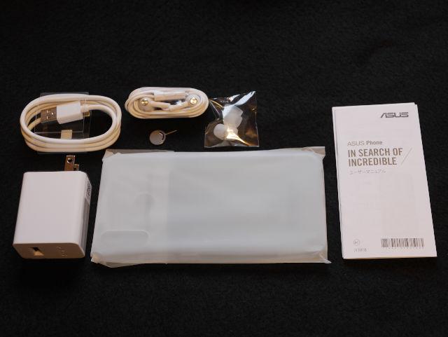 ZenFone 5Z 付属品