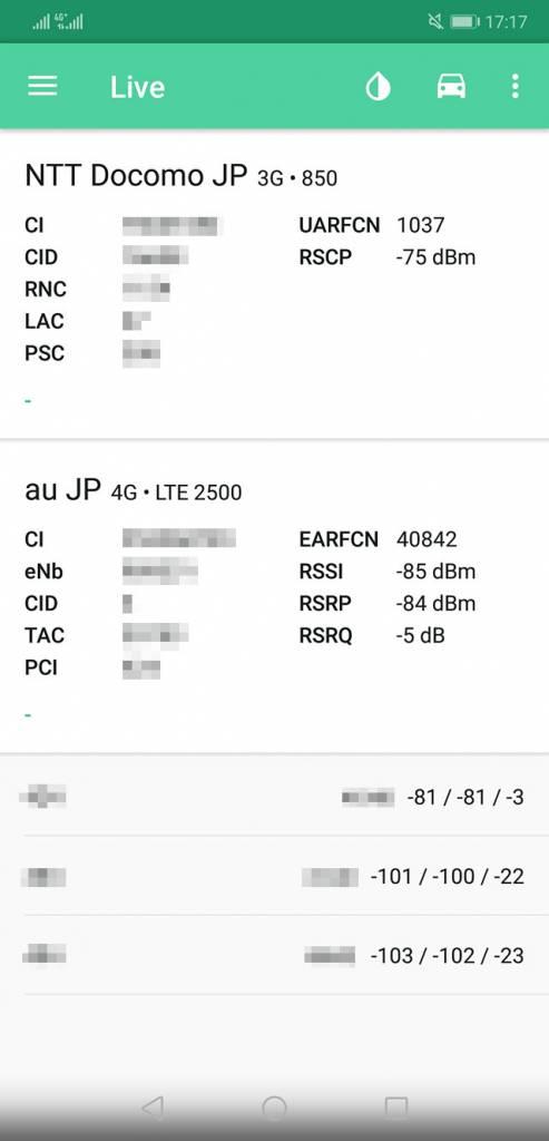 Huawei P20 ネットワーク