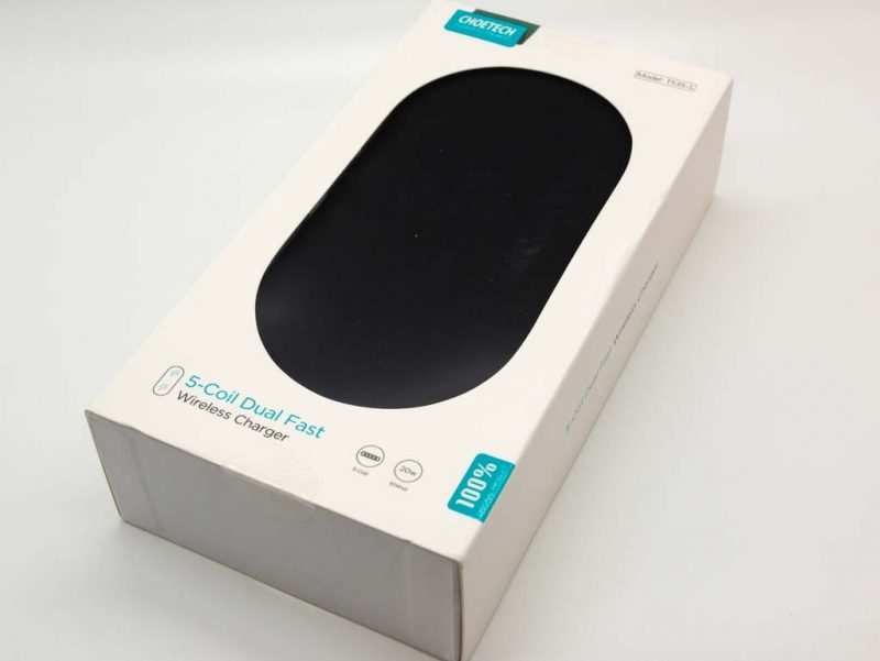 CHOETECH T535-S PowerDual 5 Coils Fast Wireless Charger Pad