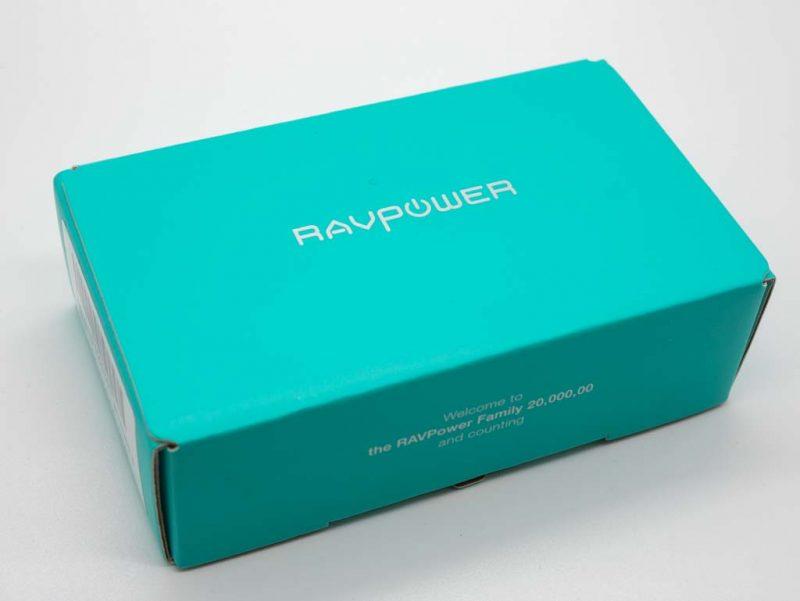 RAVPower モバイルバッテリー 5000mAh RP-PB134 パッケージ